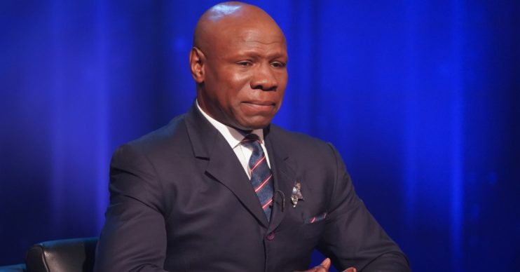 Chris Eubank appears on Piers Morgan's Life Stories