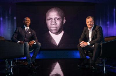 Chris Eubank appears on Piers Morgan's Life Stories