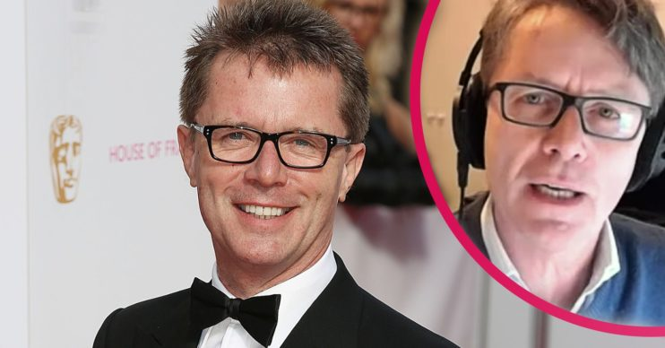 Nicky Campbell spoke about his bipolar diagnoses on Lorraine