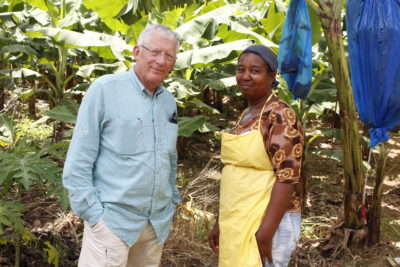 nick hewer in st lucia