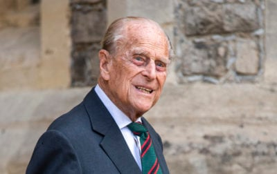 prince Philip smiling