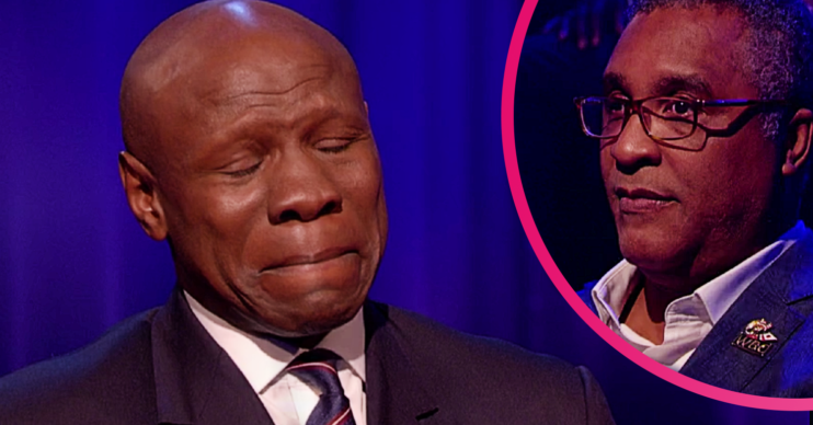 Chris Eubank on Piers Morgan's Life Stories got emotional