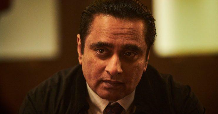 Sanjeev Bhaskar as DI Sunil 'Sunny' Khan in Unforgotten