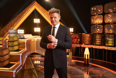 Gordon Ramsay in his new gameshow Bank Balance on BBC One