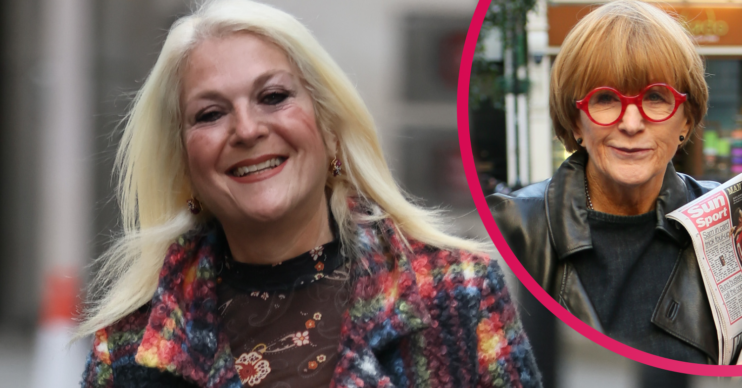 Vanessa Feltz accused Anne Robinson of a 'racist' comment