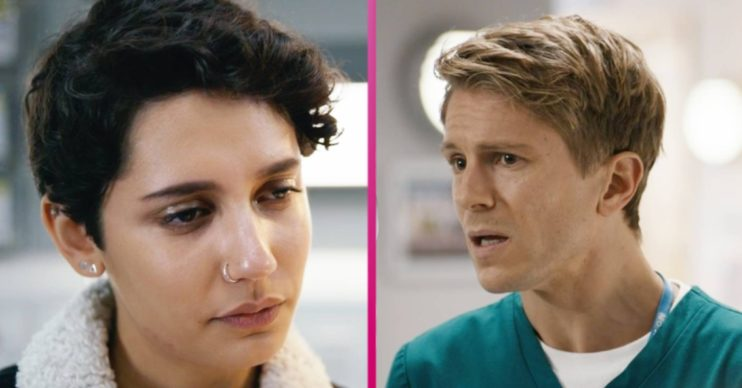 Casualty's Fenisha and Ethan