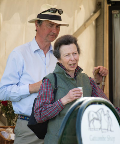 Sir Timothy Lawrence and Princess Anne