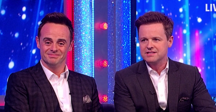 Ant McPartlin was emotional on Saturday Night Takeaway