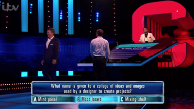 Bradley Walsh walked offset on The Chase