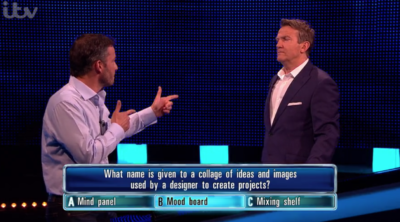 Giles Coren cracked a really bad joke on The Chase