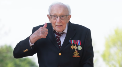 Captain Sir Tom Moore will be laid to rest this weekend