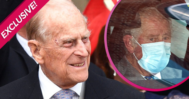 Prince Philip latest - Charles reason for visit