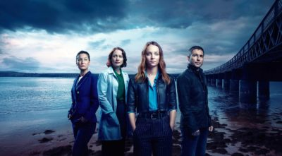 cast of Traces, Molly Windsor and Martin Compston