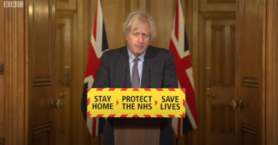 Boris Johnson speech