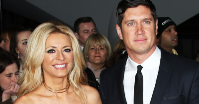 Tess Daly and Vernon abandoned plans to build their dream house