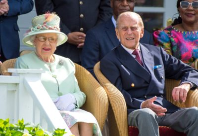 The Queen and Prince Philip (Credit: SplashNews.com)