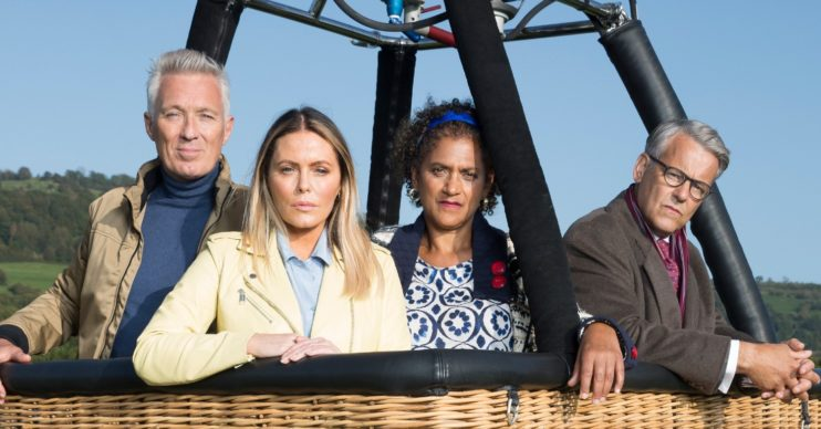 Patsy Kensit and Martin Kemp star in McDonald & Dodds on ITV1