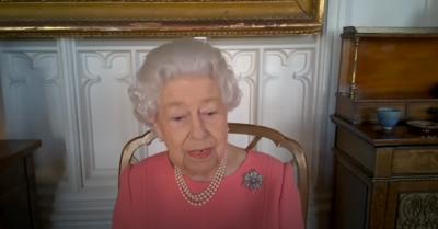 The Queen discusses vaccine