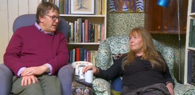 Giles and Mary on Gogglebox