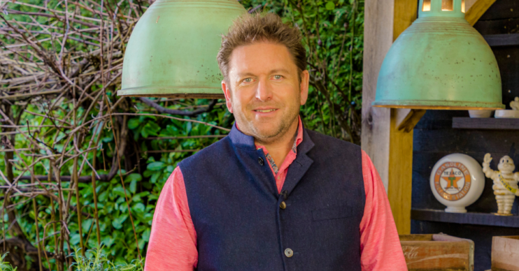 James Martin discussed dyslexia with Mollie King