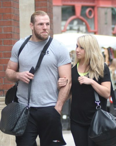 James Haskell and Chloe Madeley are planning to renew their vows