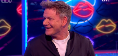 Gordon Ramsay on saturday night takeaway