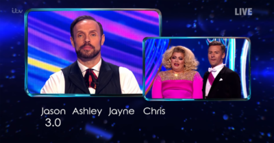 Jason Gardiner and Gemma Collins clash on DAncing On Ice