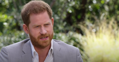 Prince Harry in Oprah interview