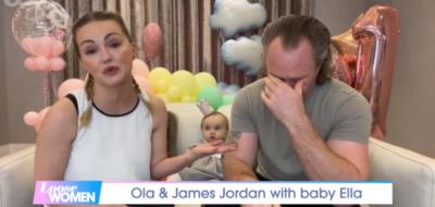 James Jordan speaks about dad on Loose Women