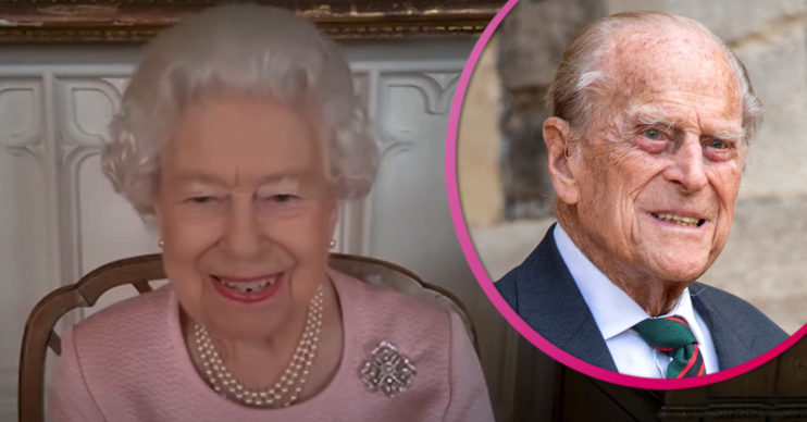 The Queen takes on engagement while Prince Philip remains in hospital