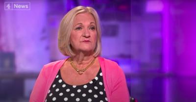 Sally Challen on C4 News