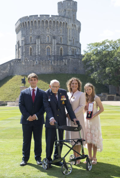 Captain Sir Tom Moore's daughhter has revealed a global celebration will take place on his 101st birthday