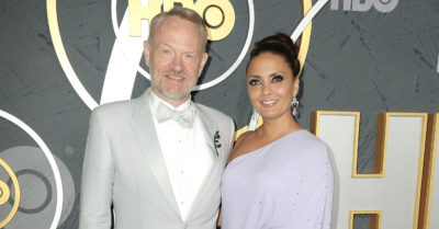 jared harris with wife allegra