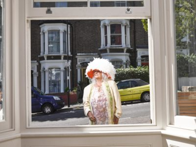 """Siona lives on """"a very British street"""" during lockdown (Credit: Channel 4)"""