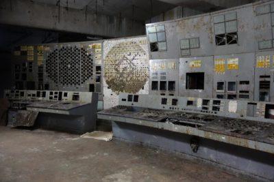 Диспетчерська четвертого блоку, де стався вибух (Фото Джерело: Канал 5)