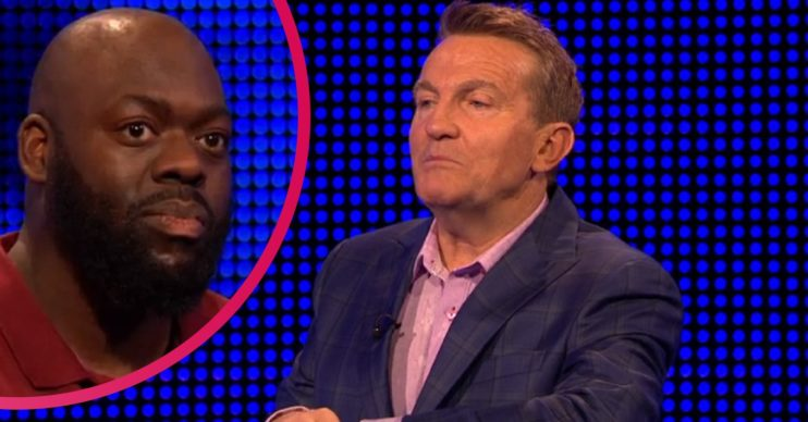 Bradley Walsh and Michael on The Chase