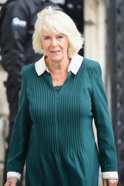 camilla duchess of Cornwall at an even