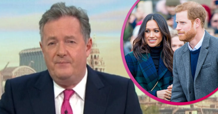 Piers Morgan and Meghan and Harry