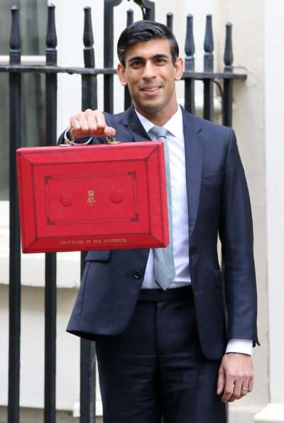 rishi sunak and his red box
