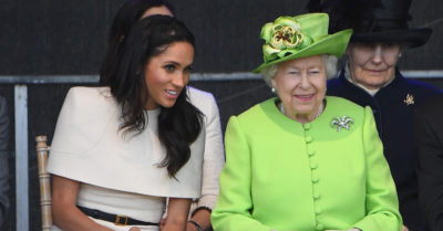 the queen with meghan markle