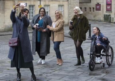 Sharon Rooney as Doreen in McDonald & Dodds