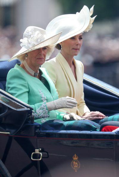 Camilla dnd Kate - latest Meghan Markle news