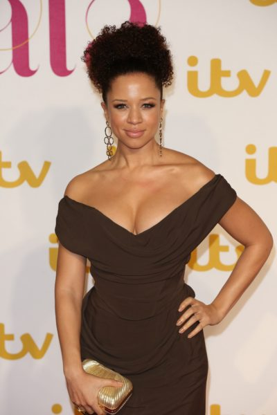 natalie gumede on red carpet