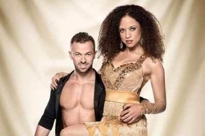 Natalie and Artem on Strictly