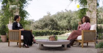 Meghan Markle in Oprah interview