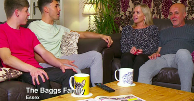 baggs family gogglebox