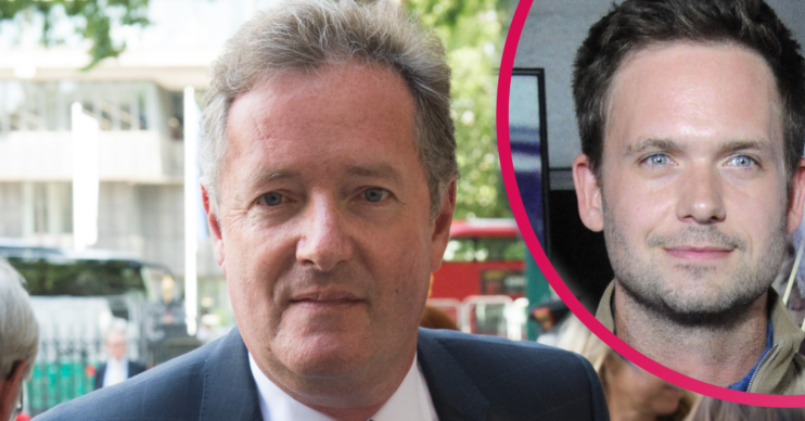 Piers Morgan lashed Patrick J Adams after he slammed the Royal Family