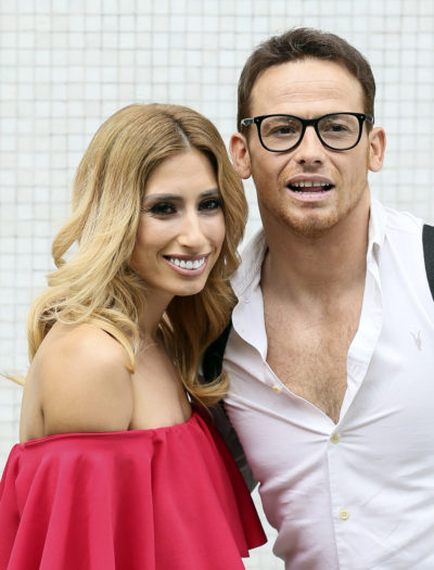 Joe Swash has revealed he hasn't been alone with fiancé Stacey Solomon in a year because of lockdown