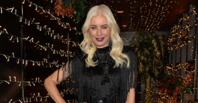 Denise Van Outen Performs At Her Cabaret Show At Proud Embankment