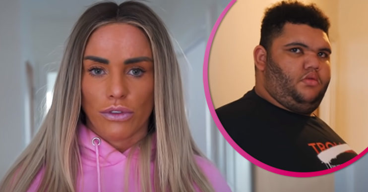 Katie Price instagram - Harvey weight loss